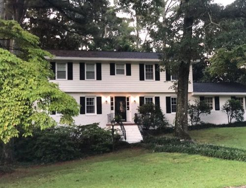 Before and After – Residential Exterior Painting