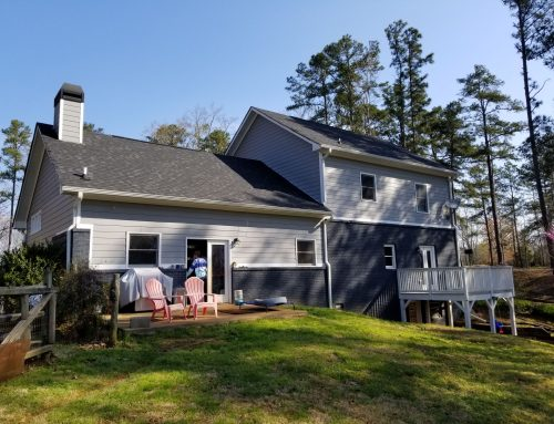 Residential Exterior Paint Make-over